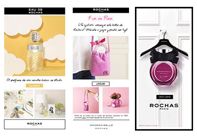 NEWSLETTERS PERFUMES ROCHAS